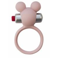 Эрекционное виброколечко Emotions Minnie Light pink 4005-02Lola