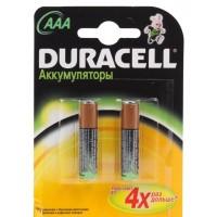 Аккумуляторы типа ААА Duracell 1000mAh 2 шт