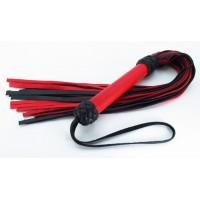Плеть черно-красная с красной ручкой Турецкие головы 54031ars