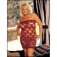 Сексуальное платье черно-красное  Shirley of  Hollywood   Q size