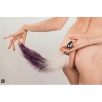Анальная Пробка с Хвостом Diamond Starlit Purple 4020-03lola