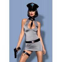 Костюм Police dress (L\XL, серый)