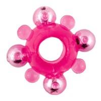 Кольцо розовое