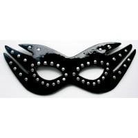 МАСКА НА ГЛАЗА цвет черный, (PVC) арт. MLF-90014-1