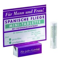 Шпанская мушка в мини-таблетках Spanische Fliege Minitableten 30 штук, 32 MIL