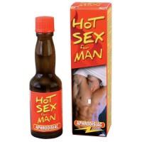 Капли мужские возбуждаущие HOT SEX MAN 20 мл., RUF120