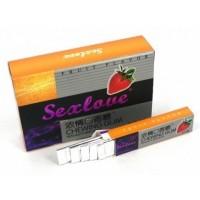 Женские Жевательная резинка для женщин SexLove Chewing Gum, SEX-50 1 шт.