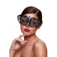 маска со стразами Masq Midnight черная
