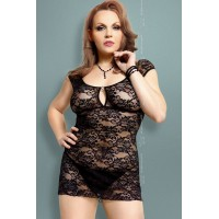 Linley - Ночная сорочка черная-XXL 173919