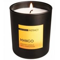 Свеча ароматическая с феромонами  Natural Instinct , Манго 180 гр