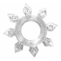 Эрекционное кольцо Rings Gear white 0112-20Lola
