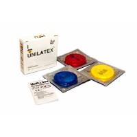 Презервативы Unilatex Multifrutis №3  ароматизированные ,цветные