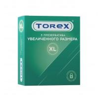Презервативы увеличенного размера TOREX  латекс, №3, 20 см