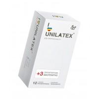 ПРЕЗЕРВАТИВЫ UNILATEX MULTIFRUITS цветные ароматизированные, 12 шт., арт. 3014