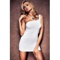 Платье S/M бел.