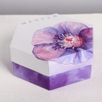 Коробка складная Мечтай, 15 × 13 × 6 см