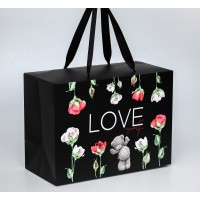 Пакет-коробка Love myself, Me To You, 20 x 28 x 13 см