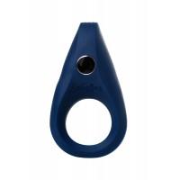 Эрекционное кольцо на пенис Satisfyer Rings, силикон, синий 7,5 см