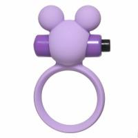 Эрекционное виброколечко Emotions Minnie Purple 4005-01Lola