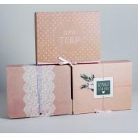 Коробка подарочная МИКС Для тебя, 31 х 24,5 х 9 см 4833077