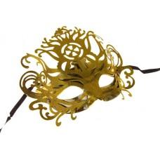 карнавал маска королева золото