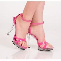 Туфли розовые 39р.