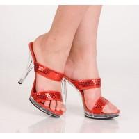 Туфли красные 39р.