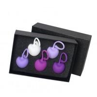 Набор вагинальных шариков S-HANDE CHERRY, cиликон, мульти-цвет, 5 шт SHD-011