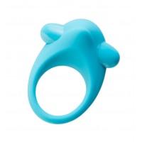Эрекционное кольцо на пенис TOYFA A-Toys, Силикон, Голубой, Ø5,4 см 768008