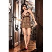 Animal Мини-платье Q (50-52), леопард