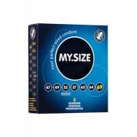 Презервативы  MY.SIZE №3 размер 69 (ширина 69mm)
