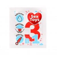 Гель-любрикант SexToys одноразовая упаковка 4 г арт. LB-55145t